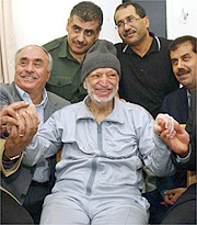 Latest photo of Arafat